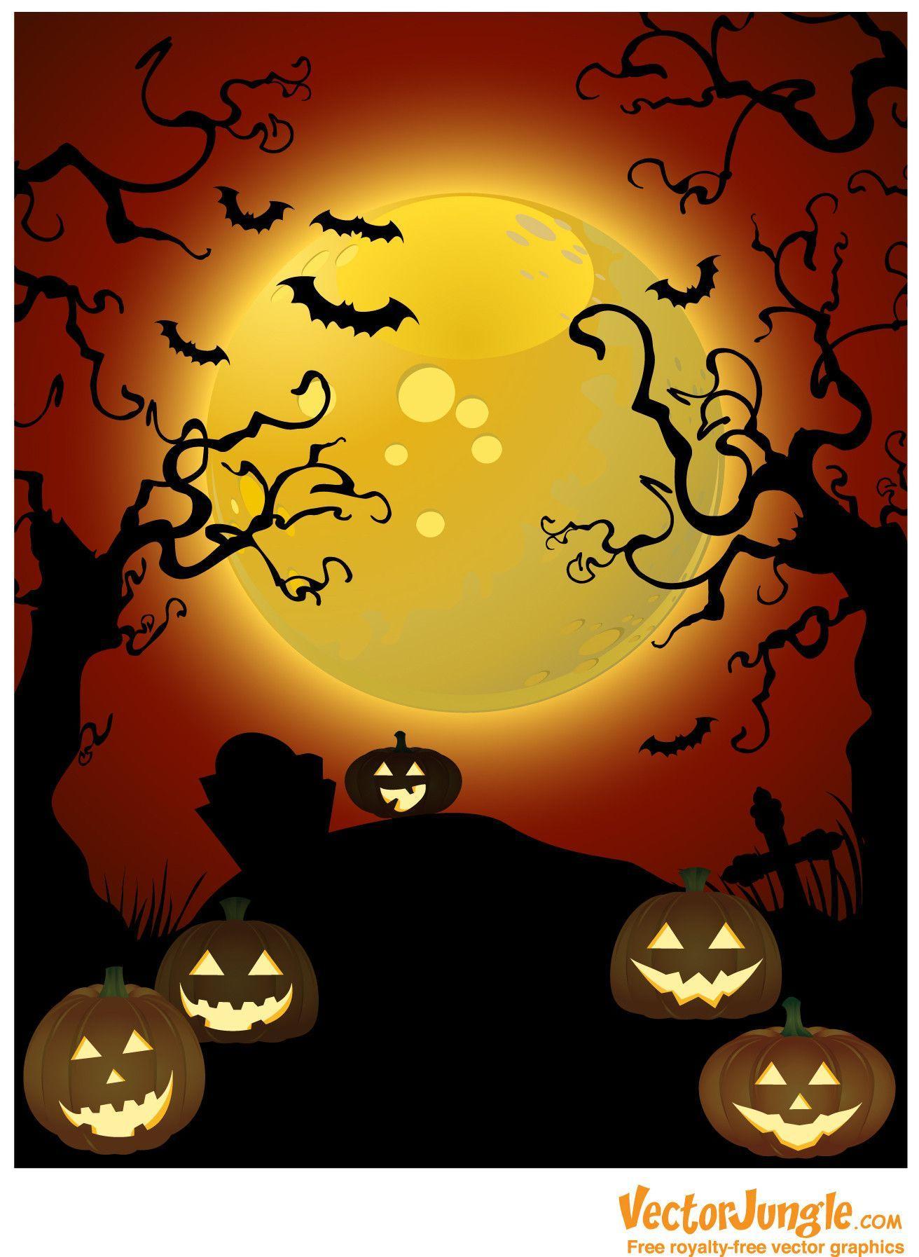 free vector halloween clipart - photo #15