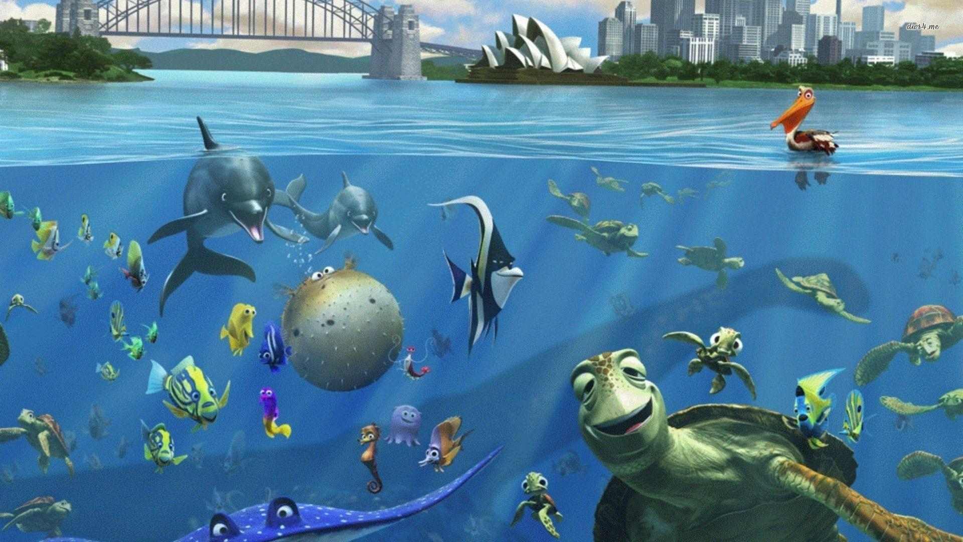 Finding Nemo 3D Wallpapers Download Free