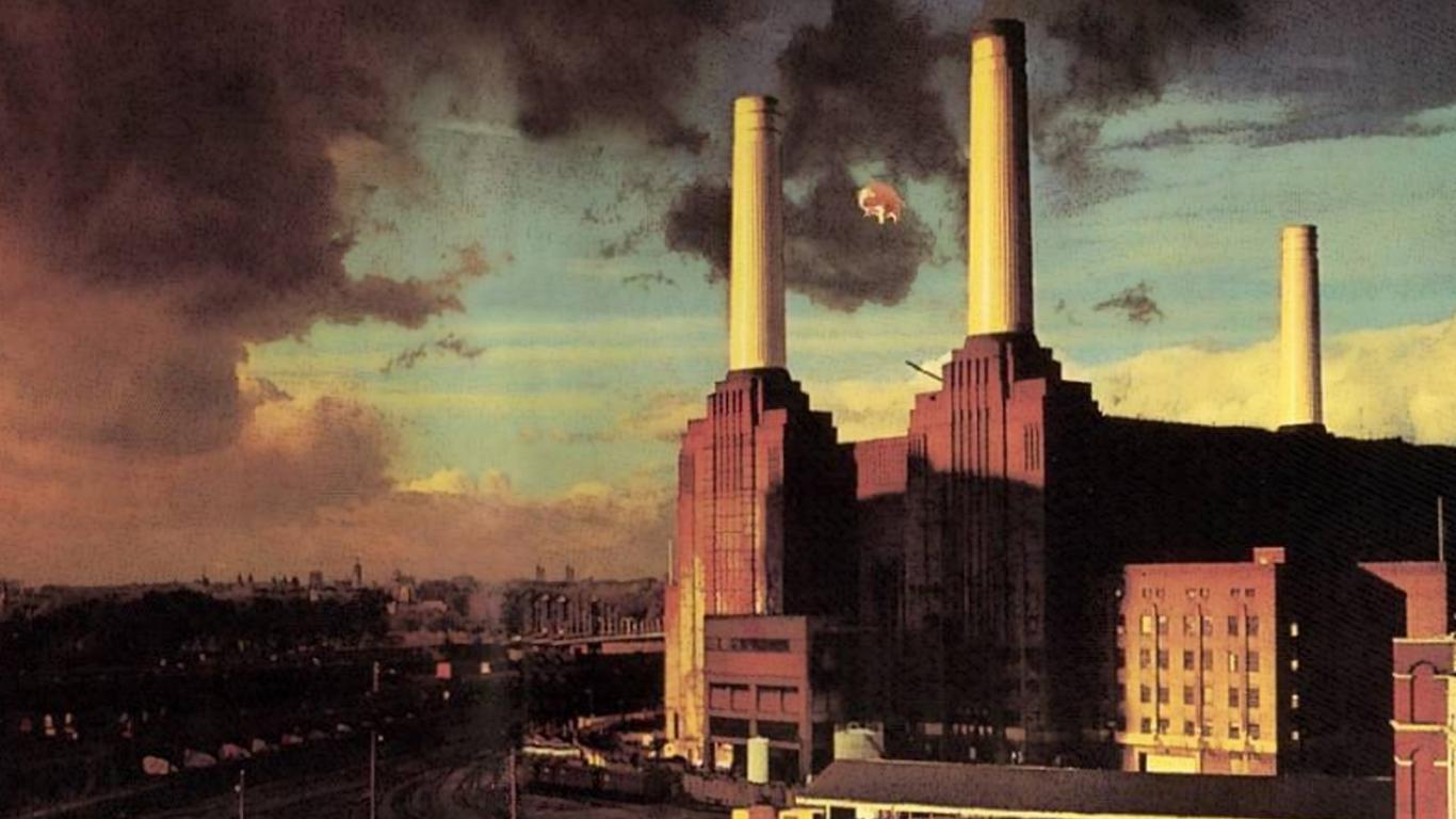 Pink floyd animals - Wonderful Pink Floyd Animals Wallpaper 1366x768px Pink Floyd