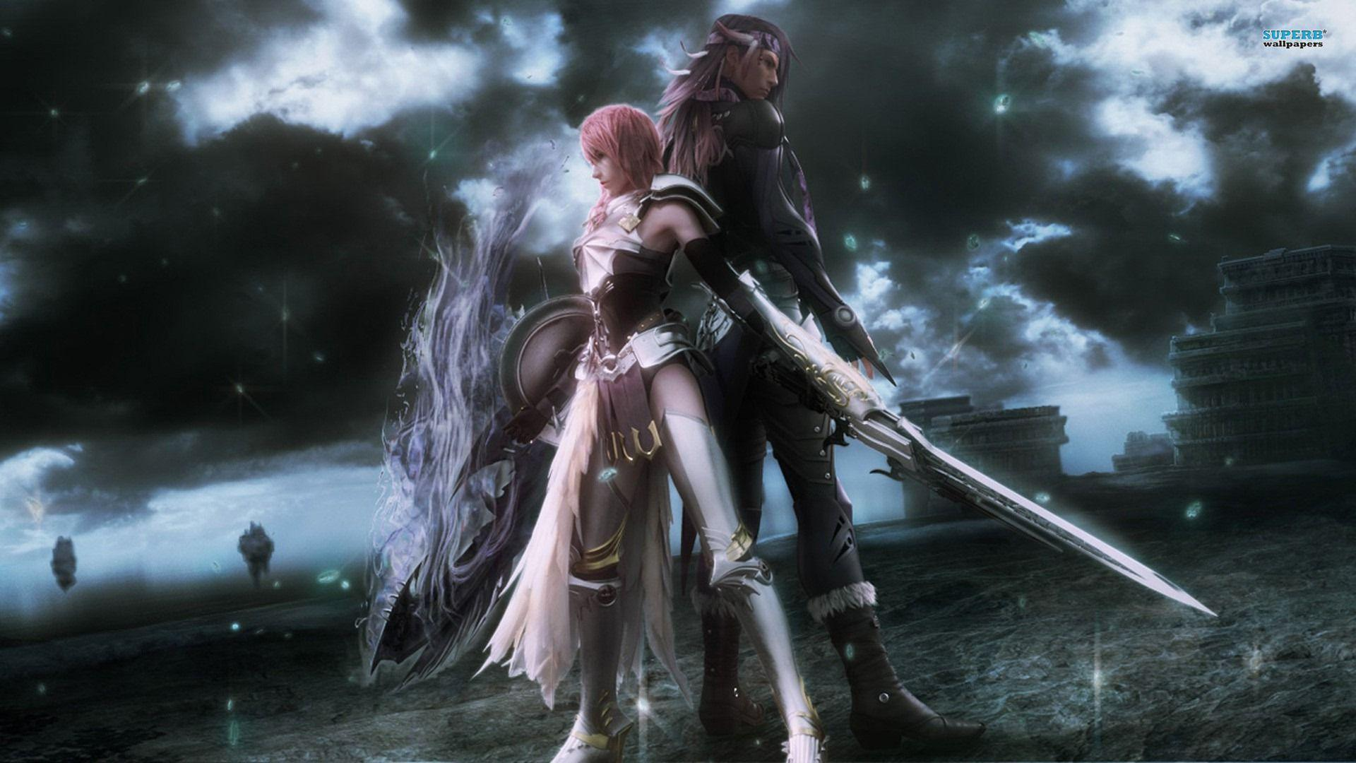 final fantasy xiii-2 wallpapers - wallpaper cave