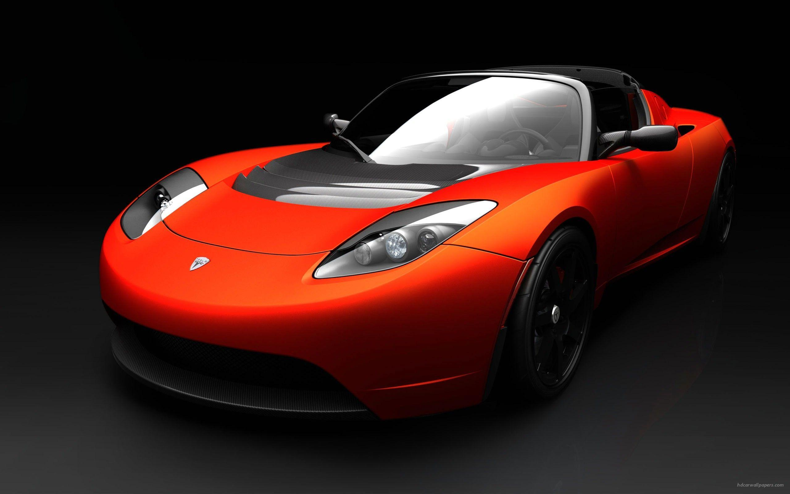 Tesla Roadster Sports Car Wallpapers | HD Wallpapers