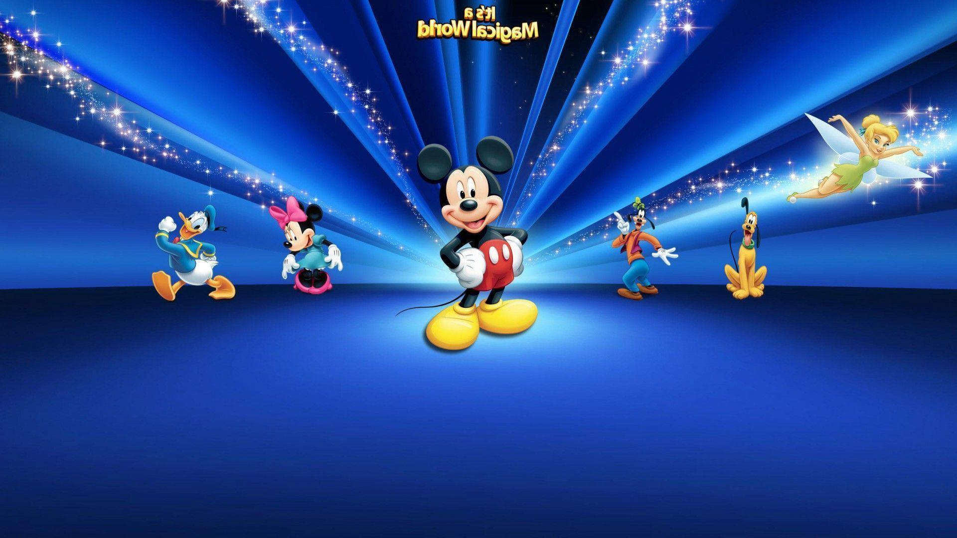Mickey mouse backgrounds wallpaper cave - Mickey mouse hd wallpaper 1366x768 ...
