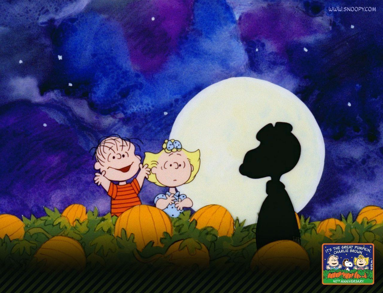Charlie Brown Thanksgiving 2018 >> Peanuts Halloween Wallpapers - Wallpaper Cave