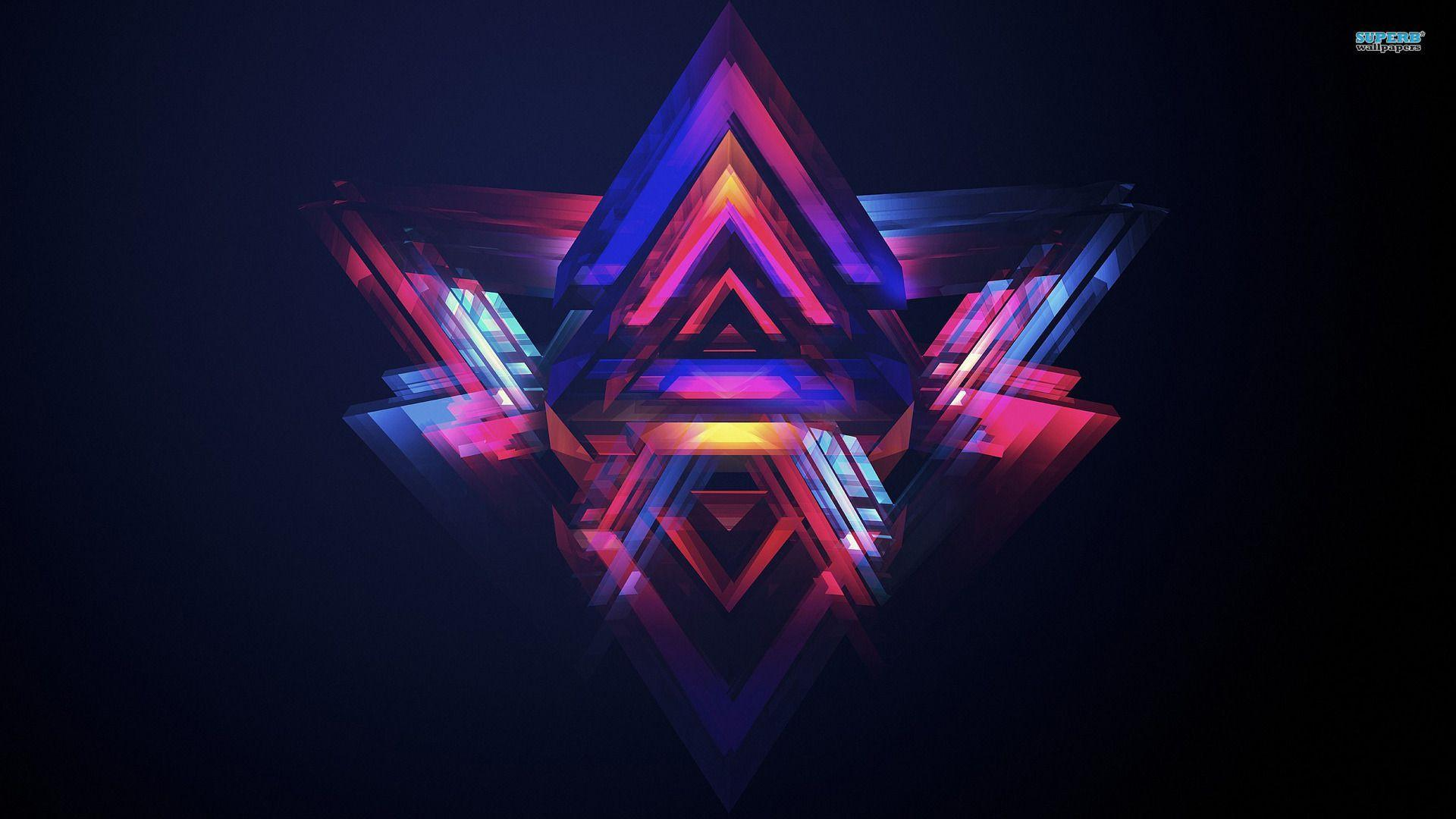 triangle abstract wallpapers hd - photo #32