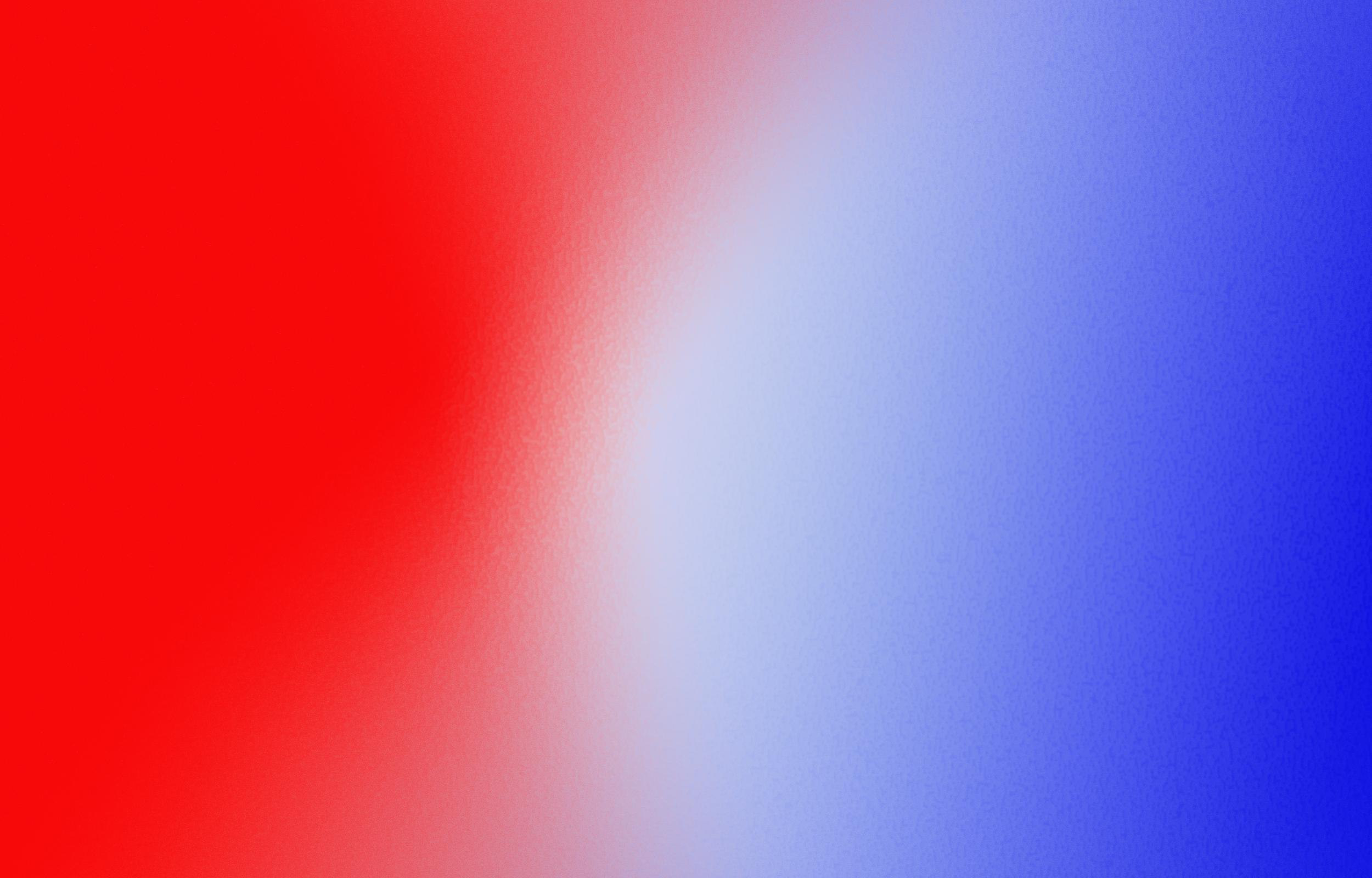 white blue and red