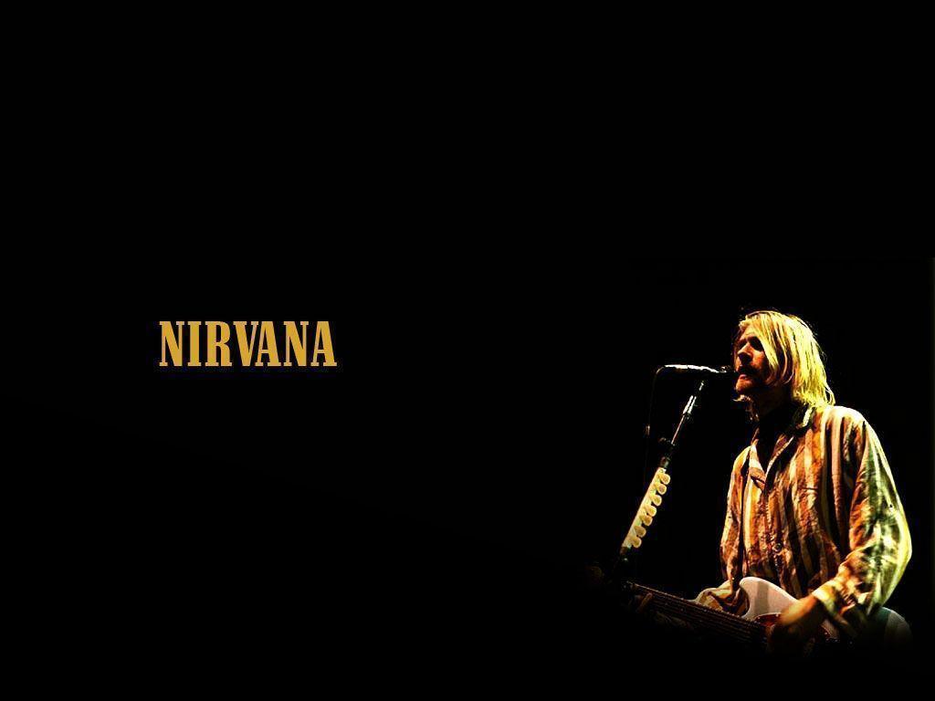 Nirvana logo wallpapers wallpaper cave - Kurt cobain nirvana wallpaper ...