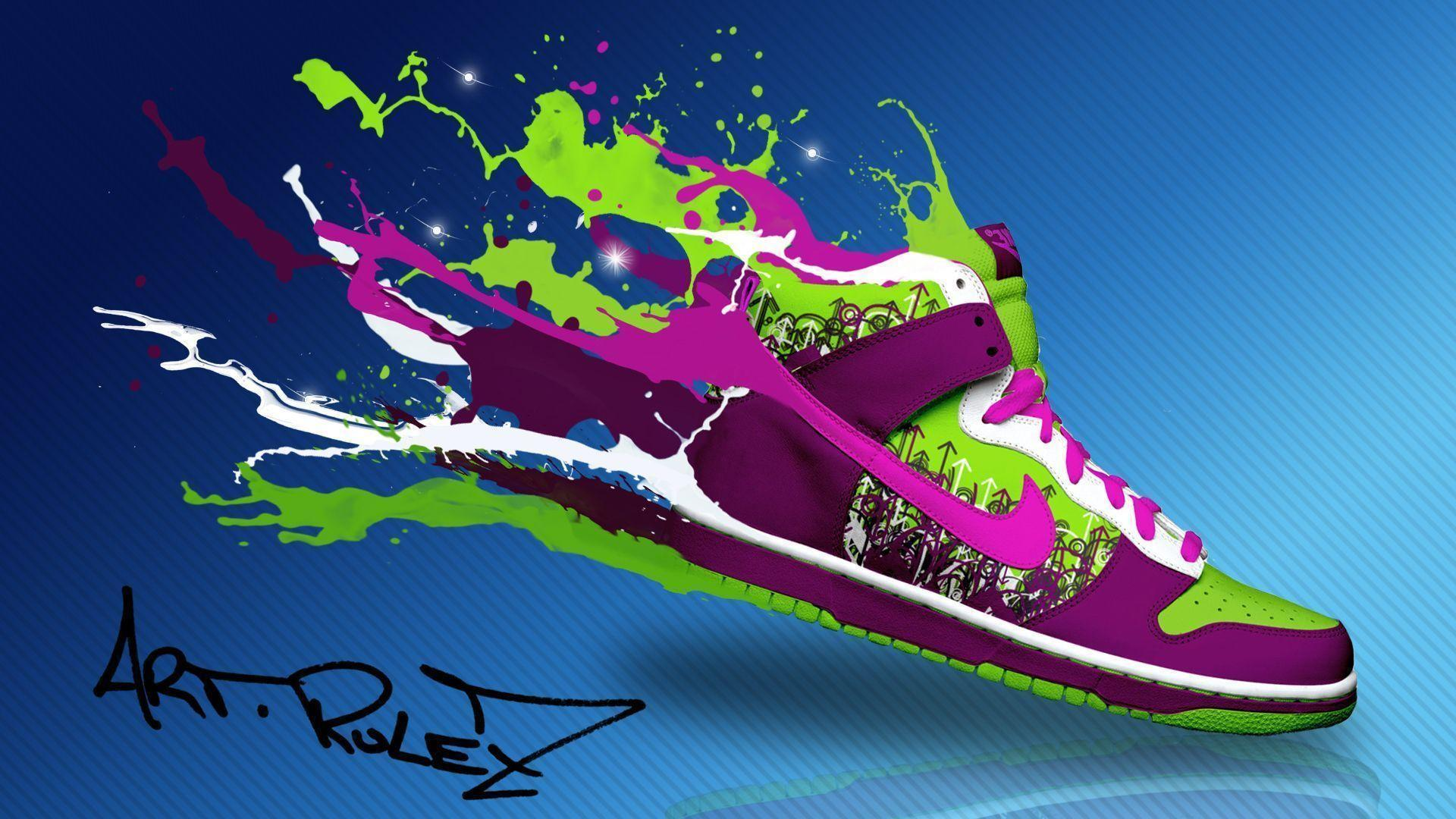 Nike Shoes Wallpapers - Wallpaper Cave Nike Track Wallpaper