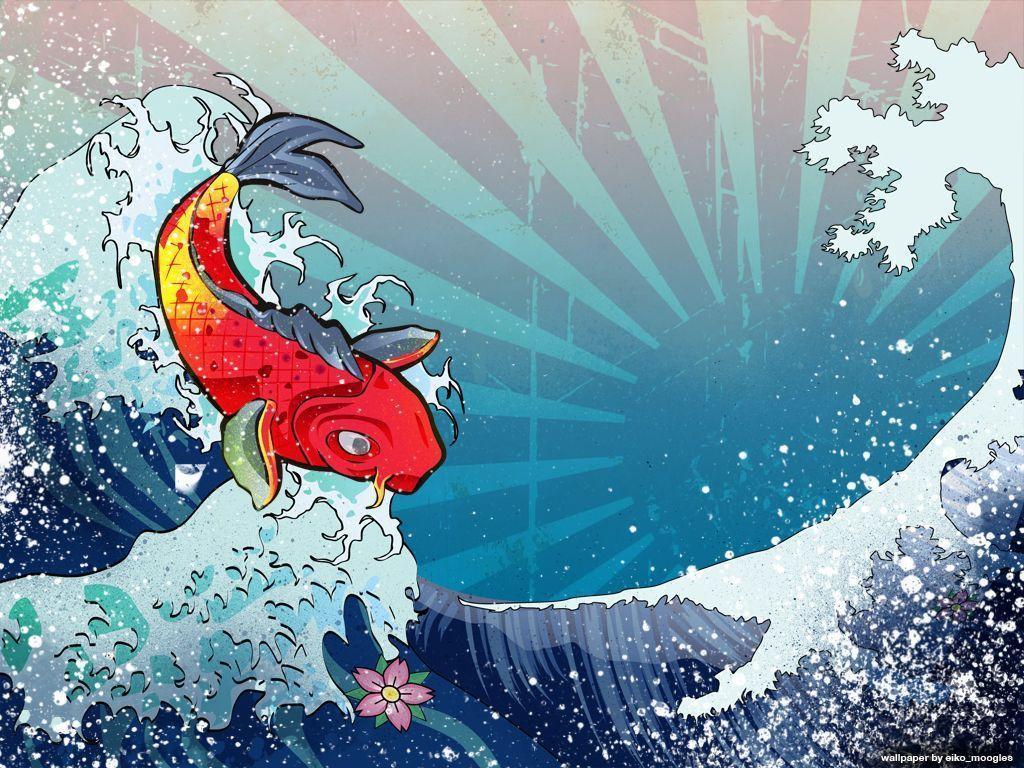 Koi Fish Wallpaper 5
