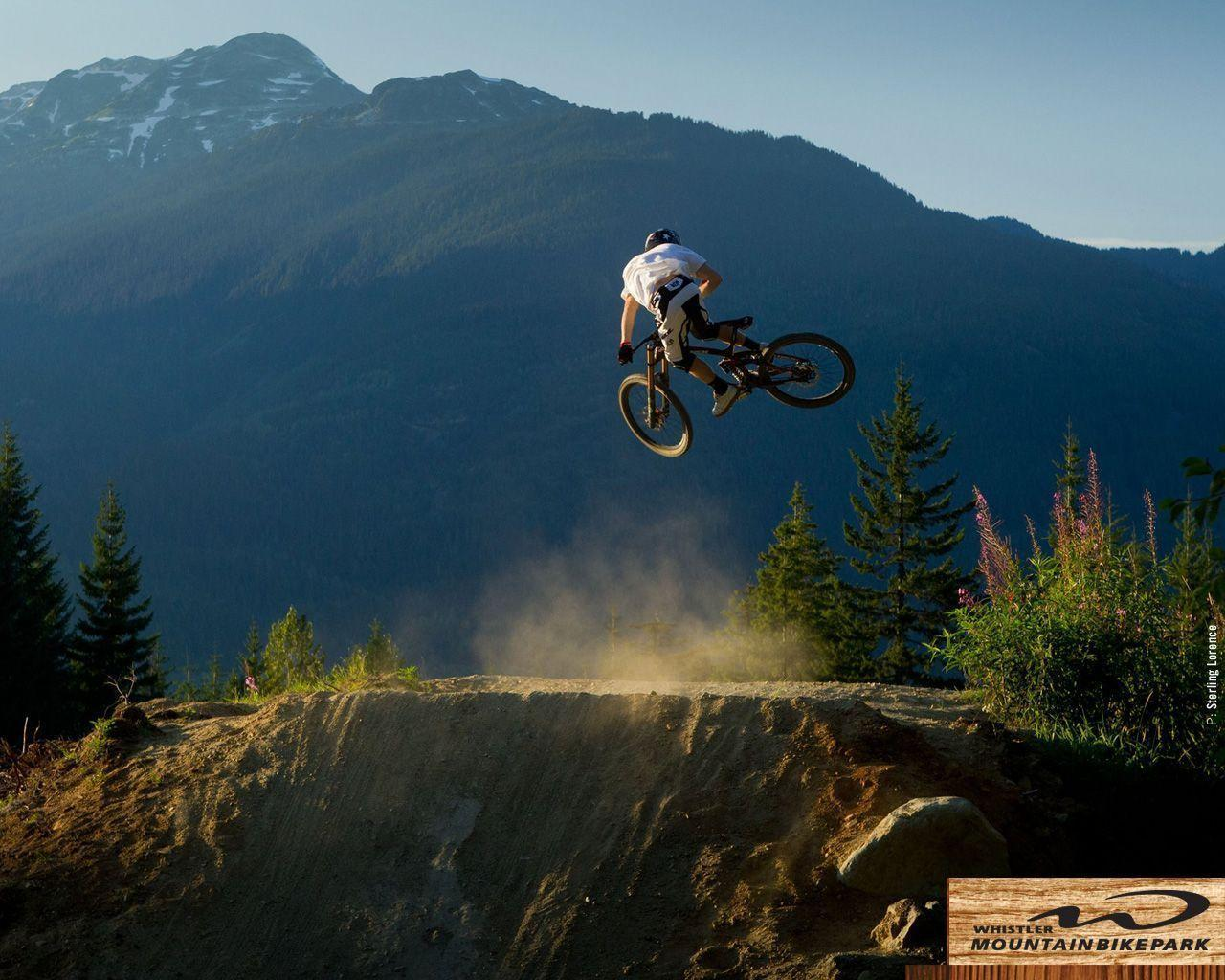 Freeride mountain biking wallpaper