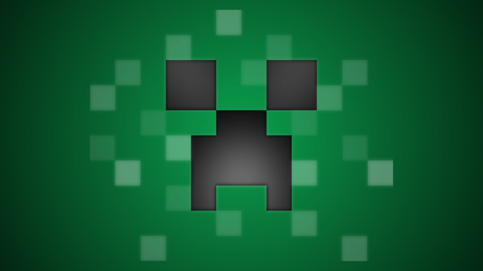 Minecraft Creeper Face Background Games Wallpapers HD - Wallpapers HD