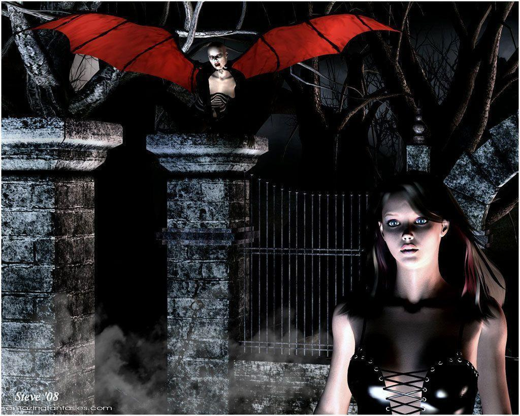 Gothic Vampire Wallpapers - Wallpaper Cave