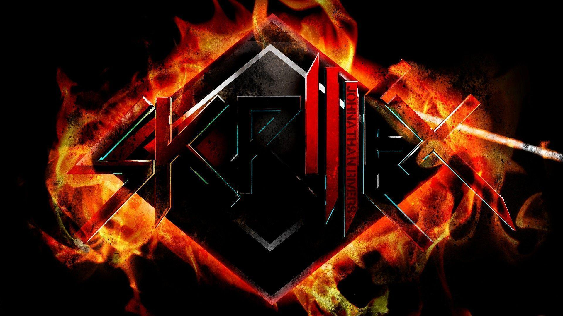 Skrillex Wallpaper Red
