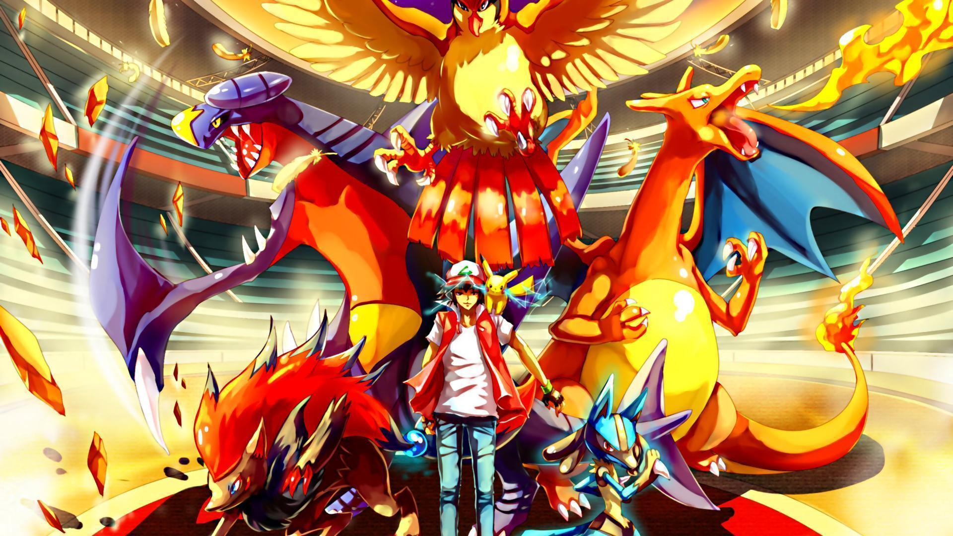 Download Pokemon Red Stadium Papel Parede Wallpapers 1920x1080