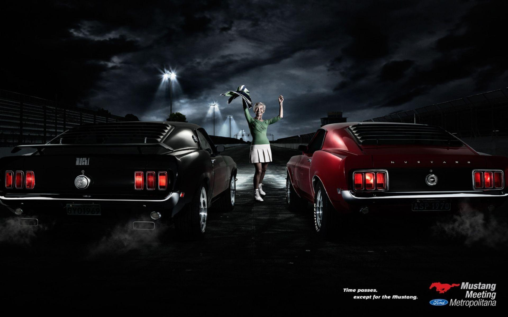 Wallpapers of Ford Mustang in HD - classic muscle car to new models