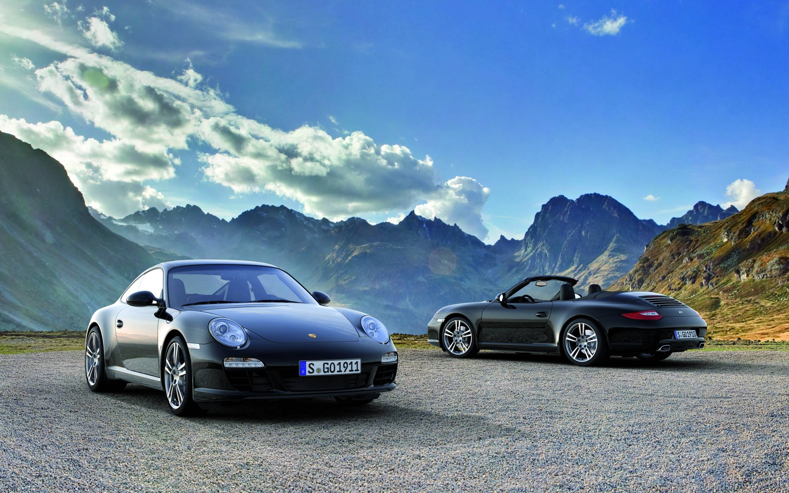 2011 Black Porsche 911 Black Edition wallpapers