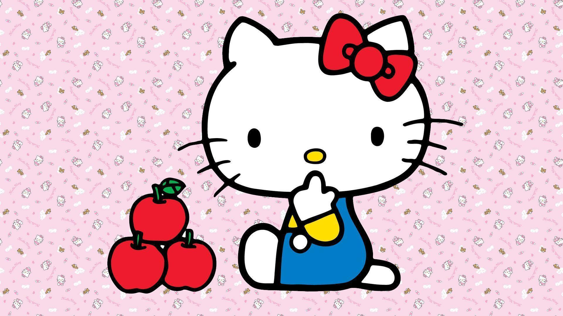 hello kitty wallpaper red hd - photo #46