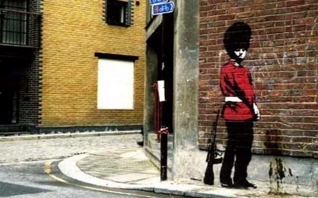 wallpapers for banksy street art wallpaper