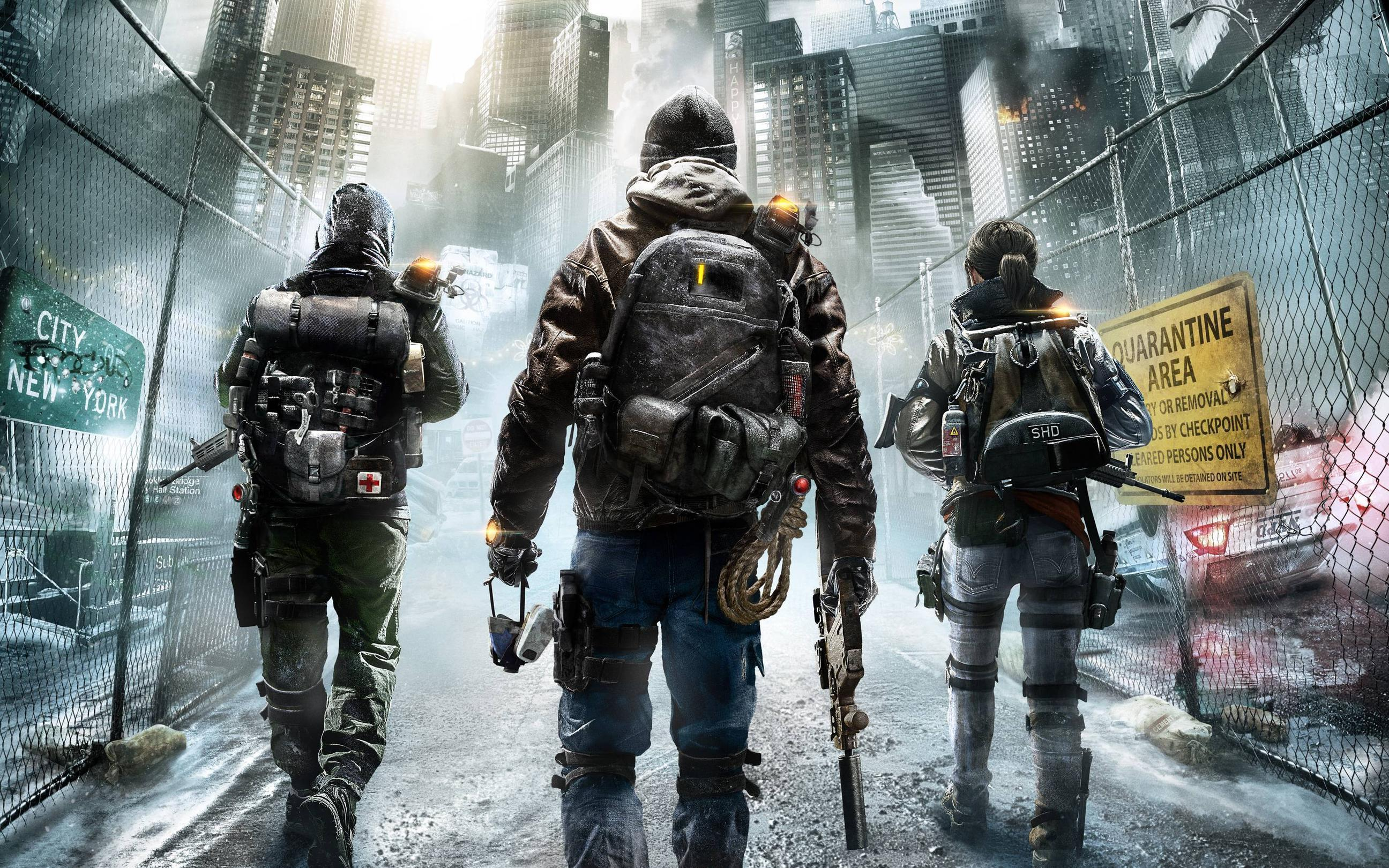 Tom Clancys The Division 2015 Game Wallpapers