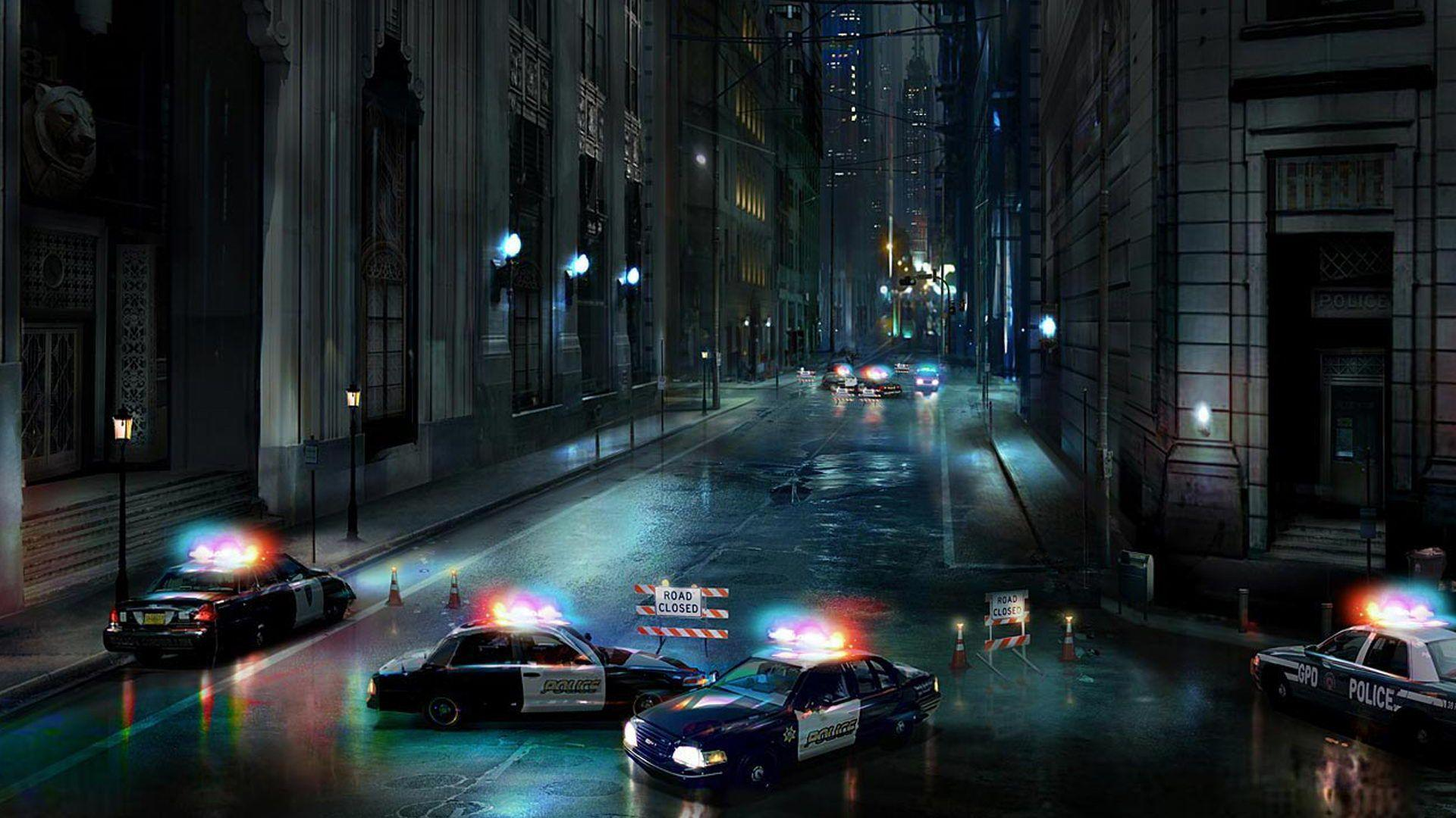 AmazingPict.com | Gotham City Street HD