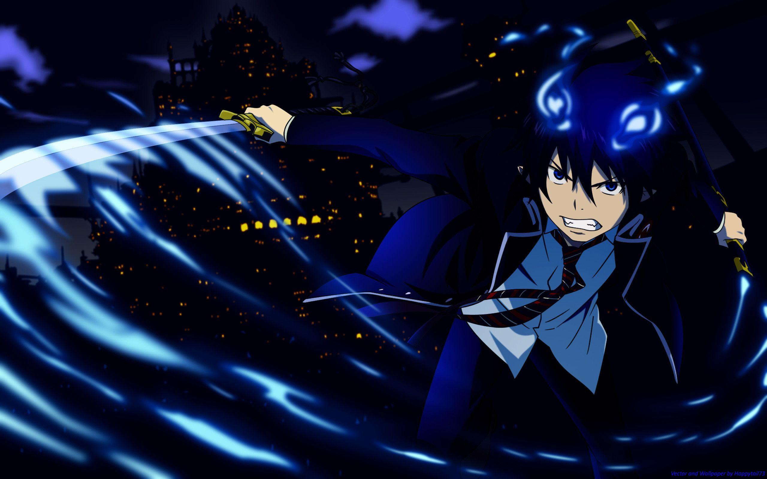 epic blue exorcist wallpaper - photo #29