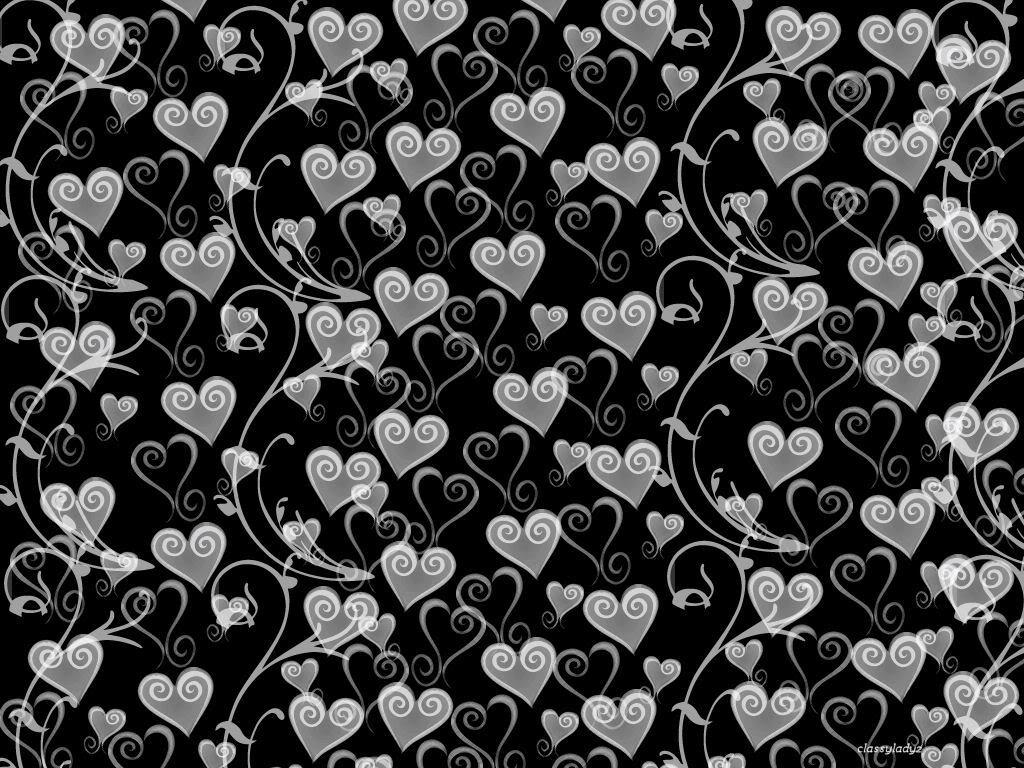 Black And White Love Heart Wallpaper : Black And White Heart Wallpapers - Wallpaper cave