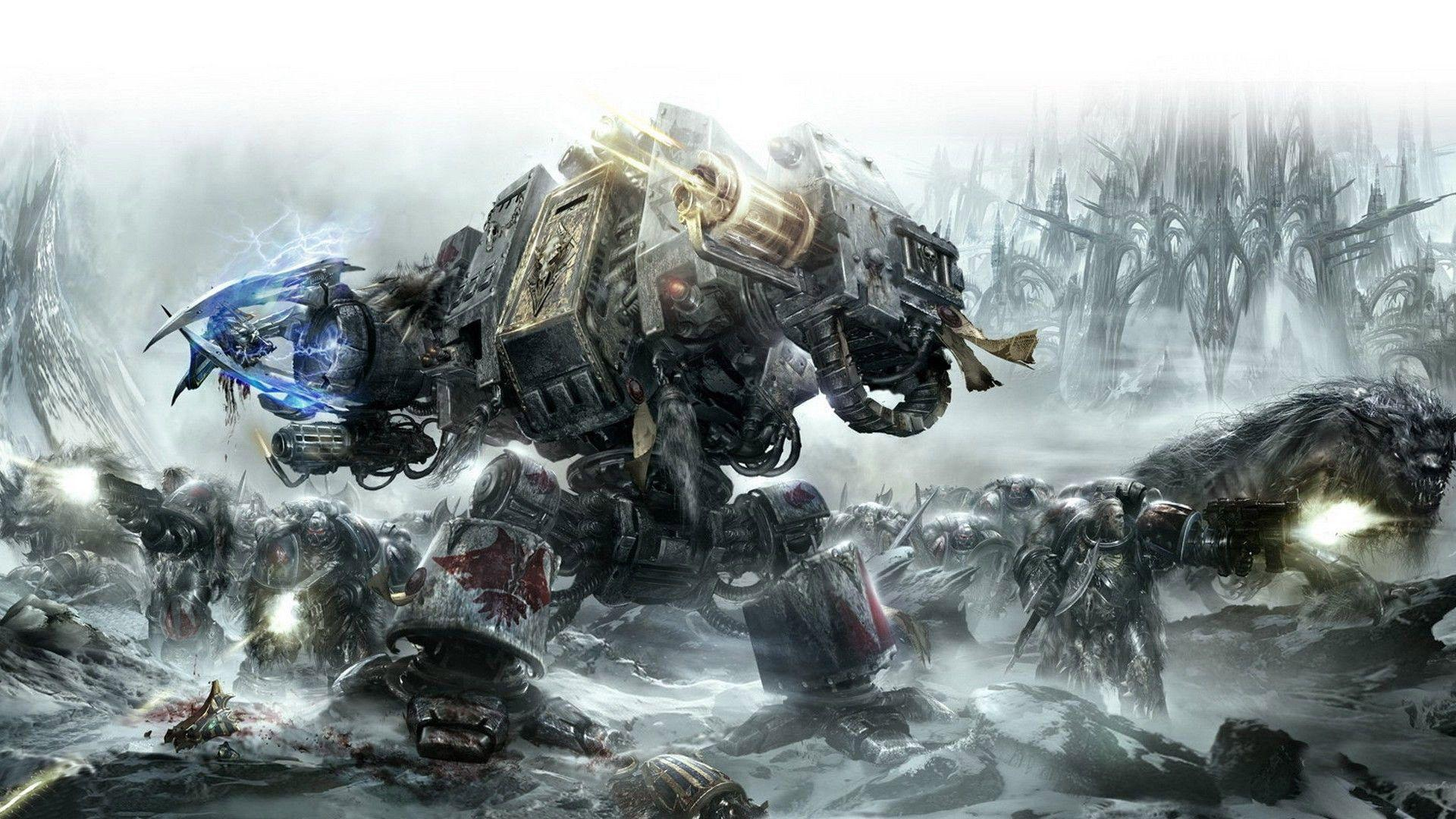 warhammer 40k wallpaper 1680x1050 - photo #1