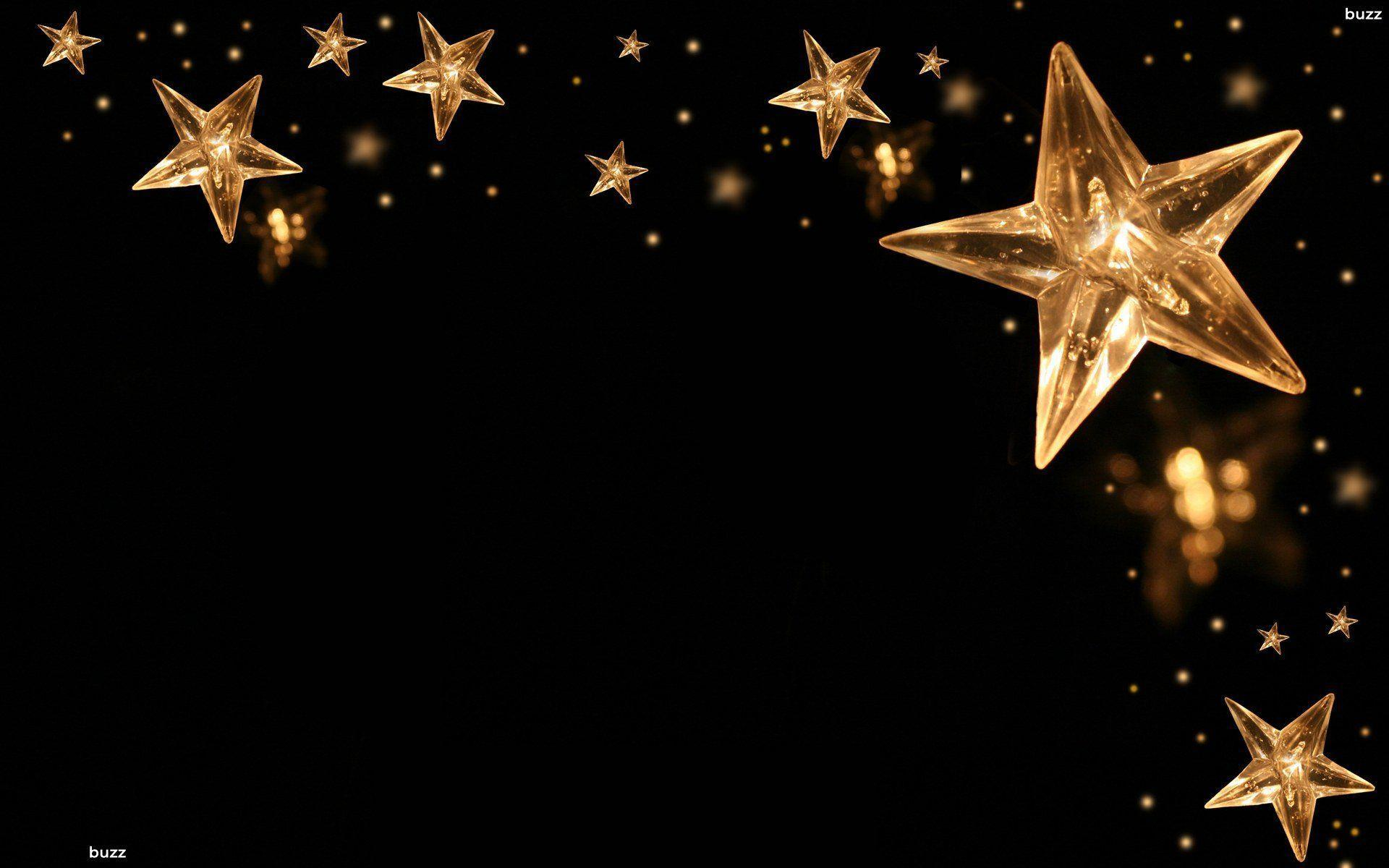 Black and gold backgrounds wallpaper cave - Estrellas de navidad ...
