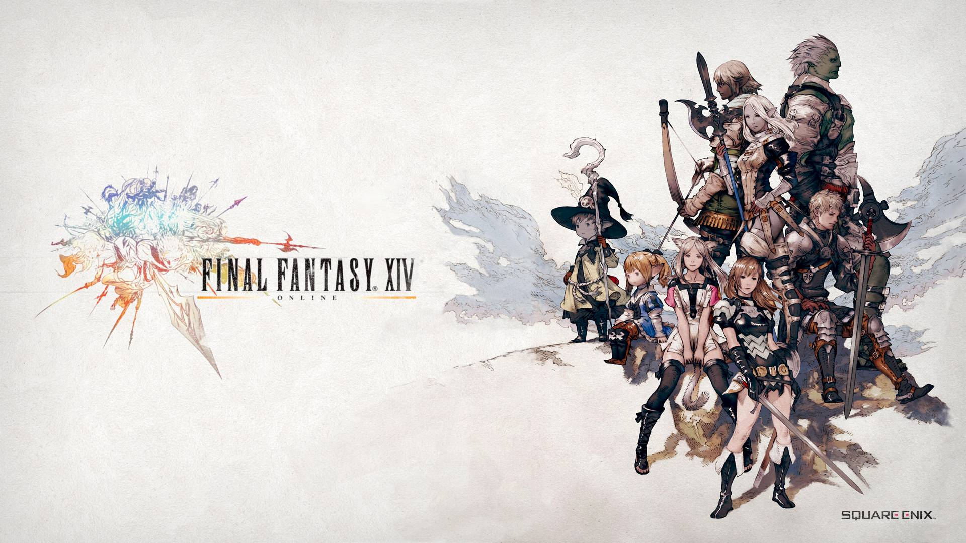 Final Fantasy Xiv Wallpapers Wallpaper Cave