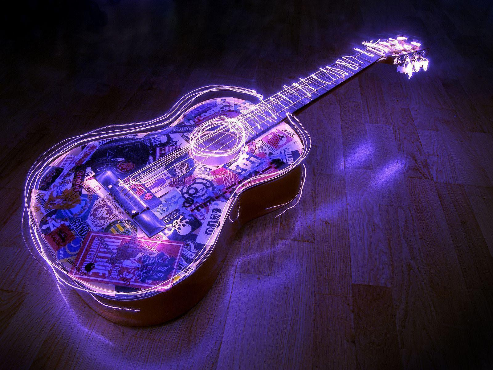Wallpapers For > Awesome Guitar Backgrounds