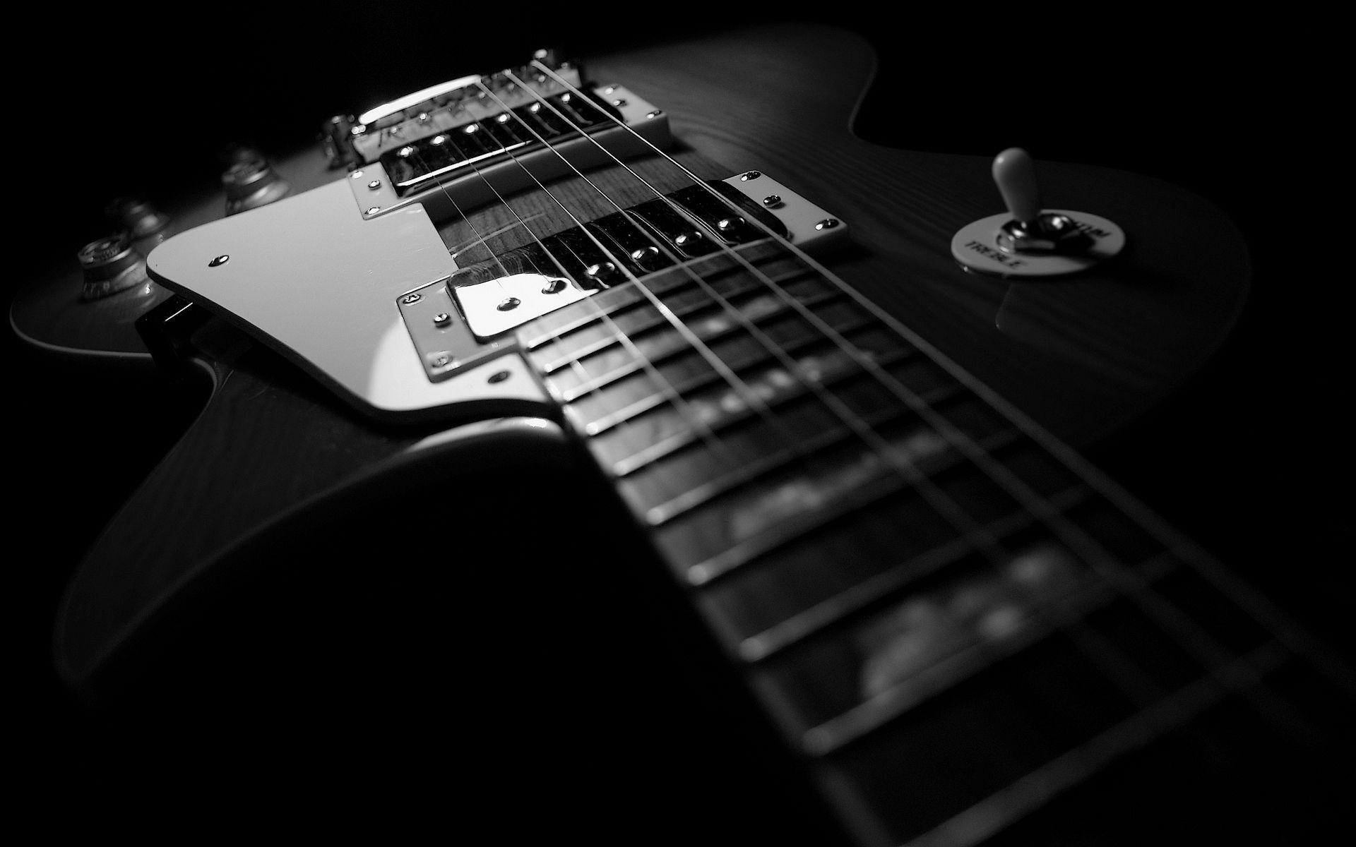 Guitar On Fire Wallpaper | Wallpaper Download