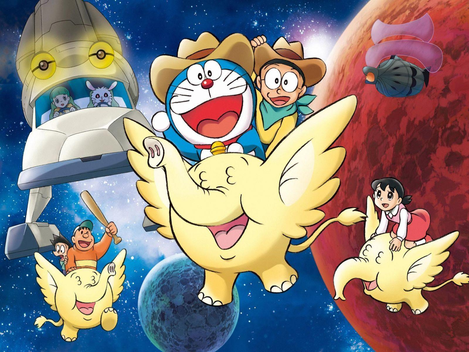 Cute Doraemon Cartoon Full HD | ardiwallpaper.