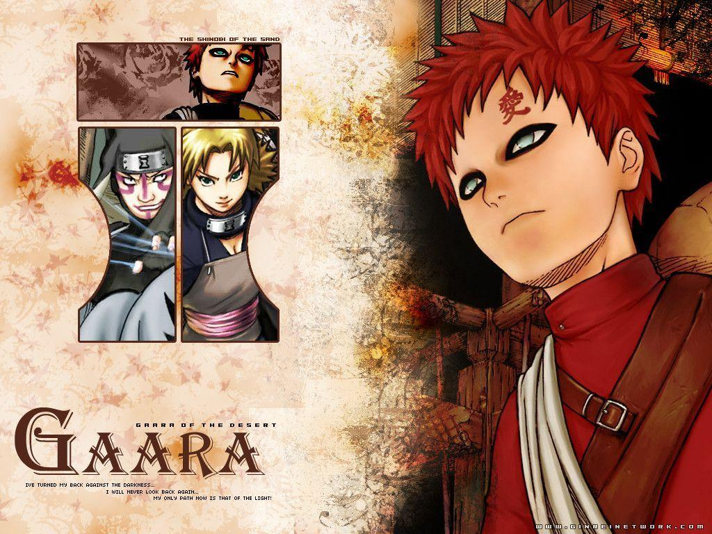 naruto and gaara wallpaper - photo #12