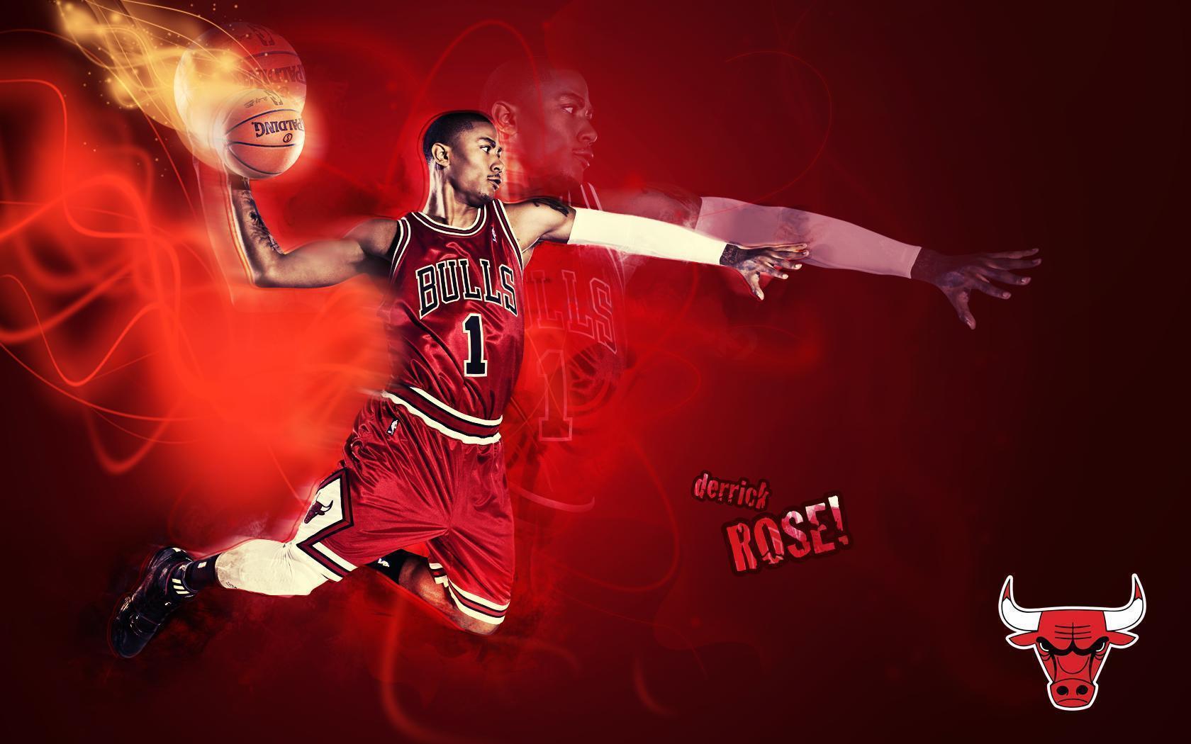 derrick rose wallpaper dunk - photo #11