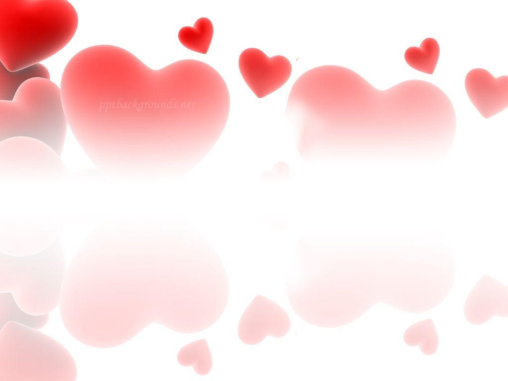 Red Love Heart Backgrounds