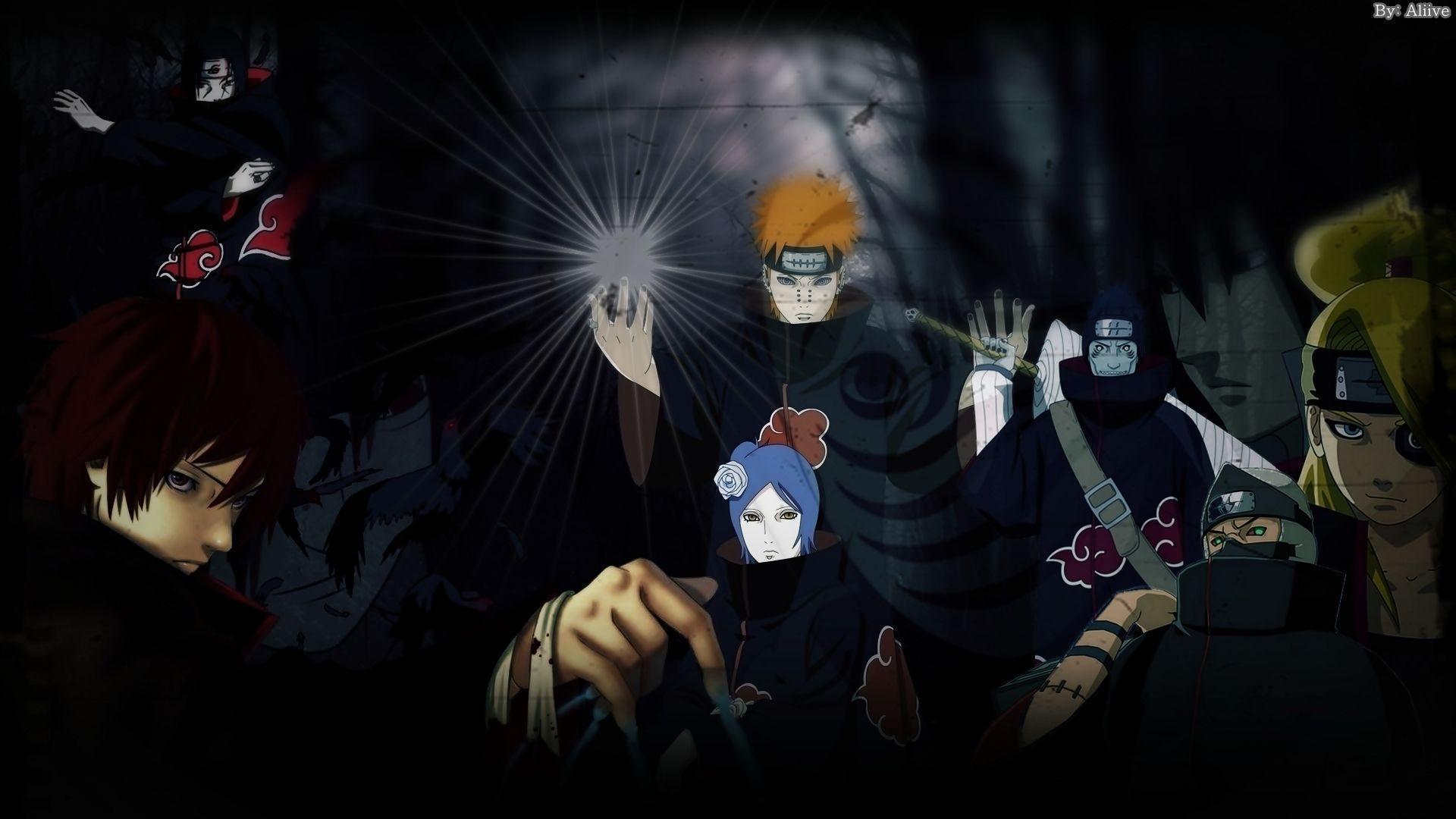 Naruto Shippuden Akatsuki Wallpapers - Wallpaper Cave