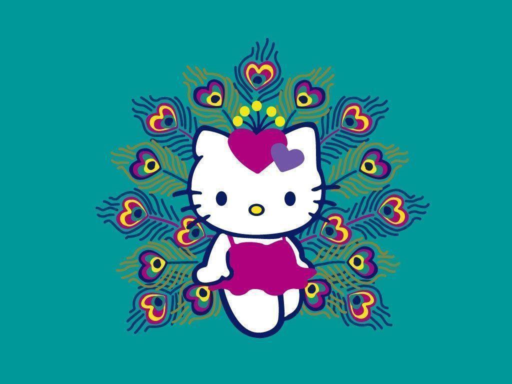 Hello Kitty Thanksgiving Wallpaper