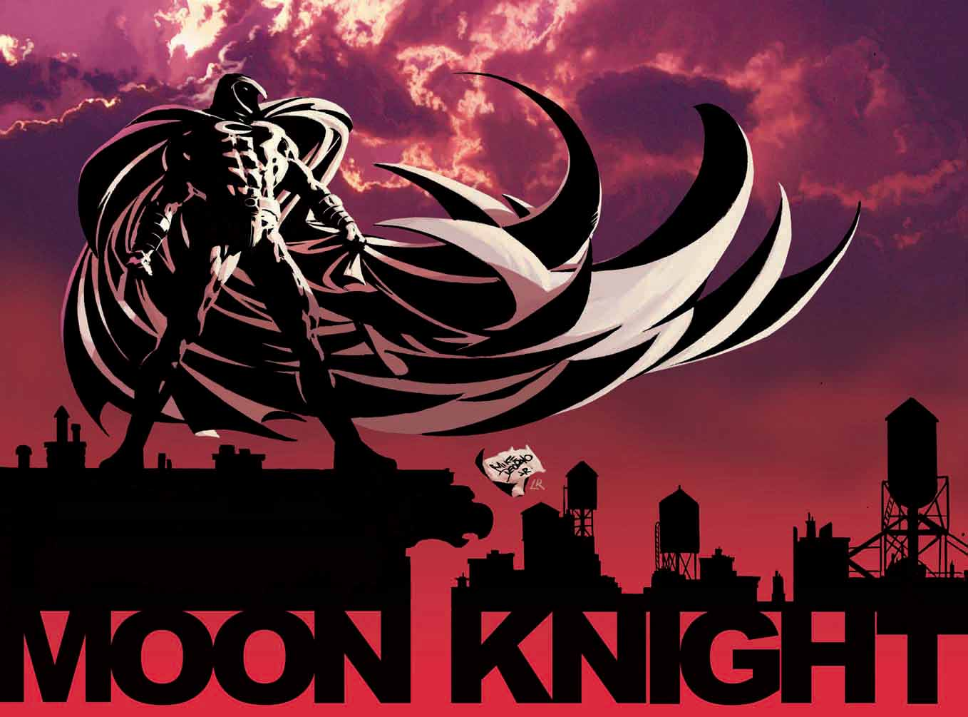 Moon Knight Computer Wallpapers, Desktop Backgrounds 1358x1005 Id ...