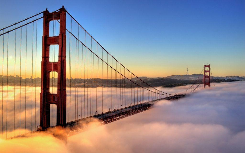 Astounding Golden Gate San Francisco US HD Wallpaper Wallpaper,