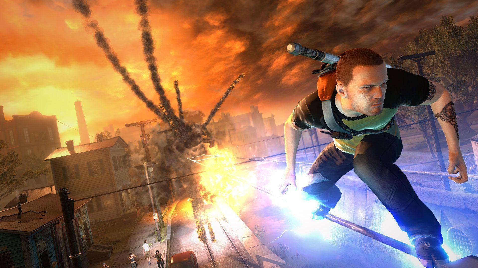 infamous 2 wallpapers wallpaper cave