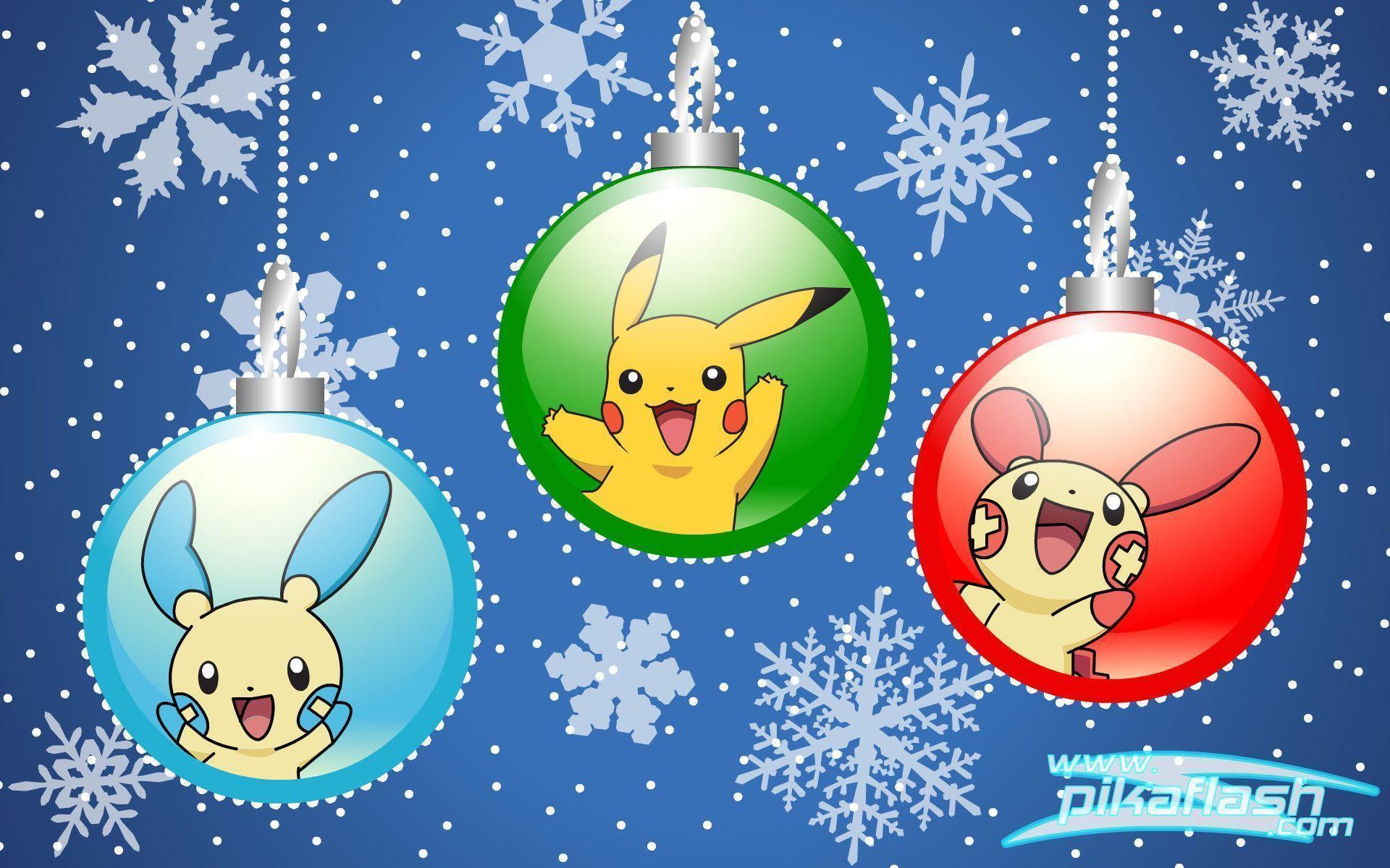 Pokemon Christmas Wallpapers - Wallpaper Cave