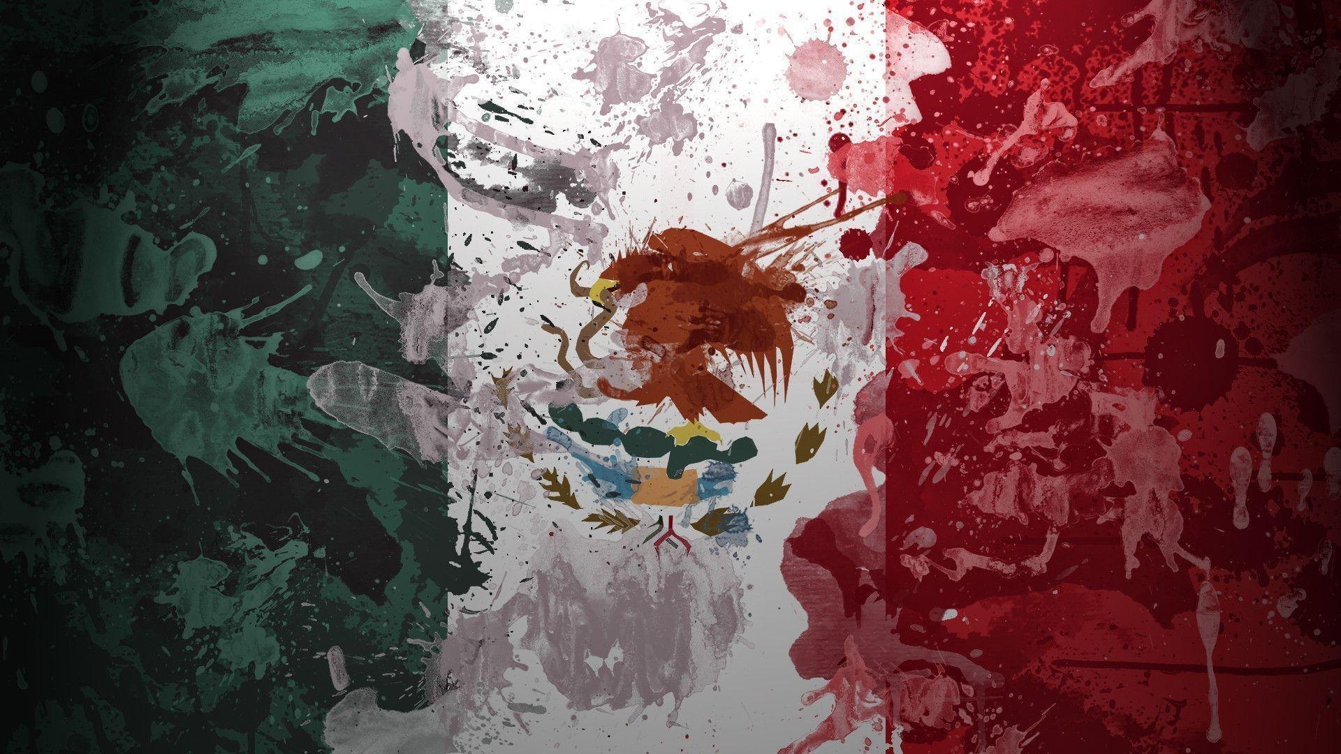 Image result for mexico flag wallpaper