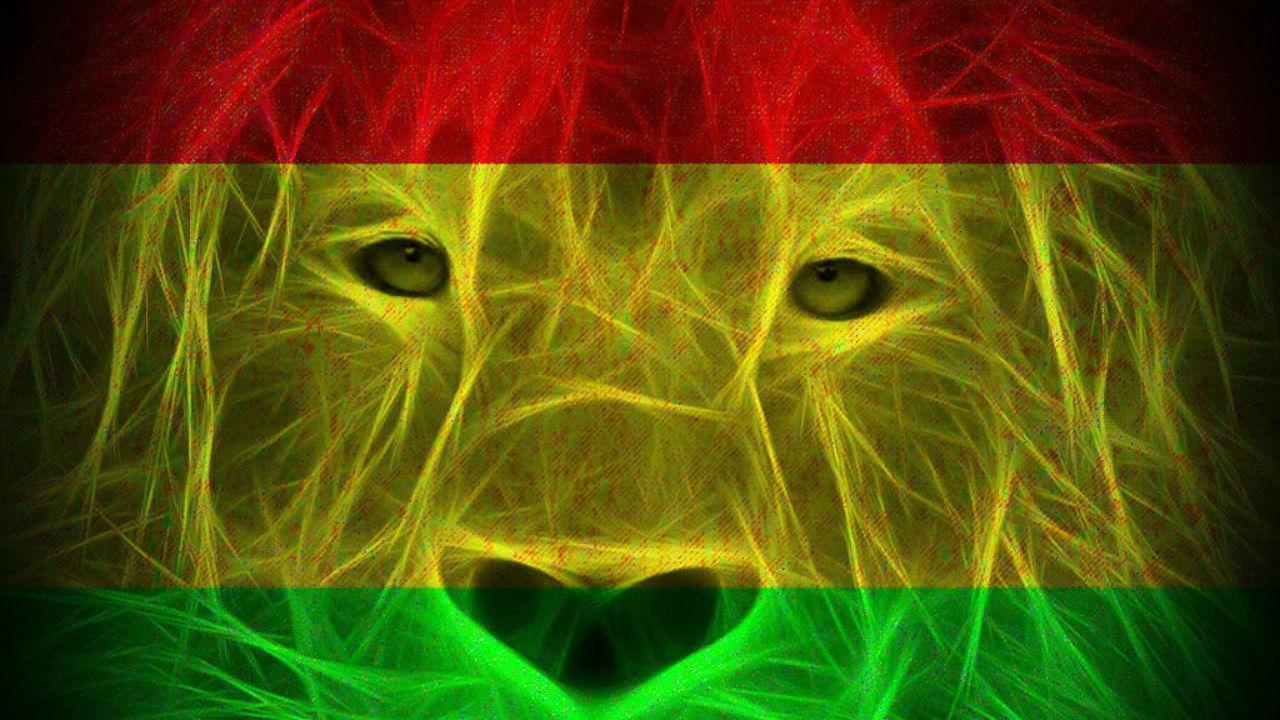 rastafarian lion wallpaper - photo #12