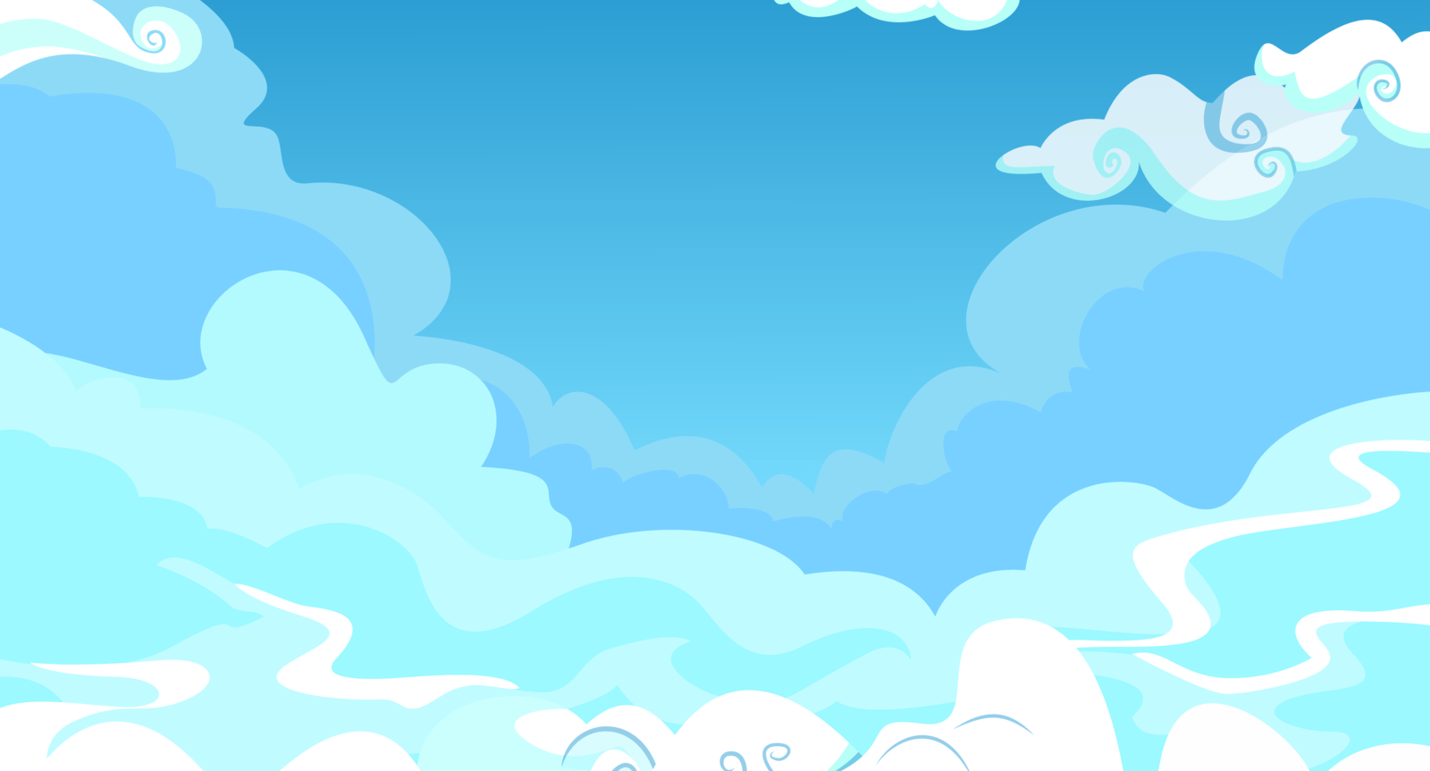 Cloudy Sky Backgrounds by GoblinEngineer