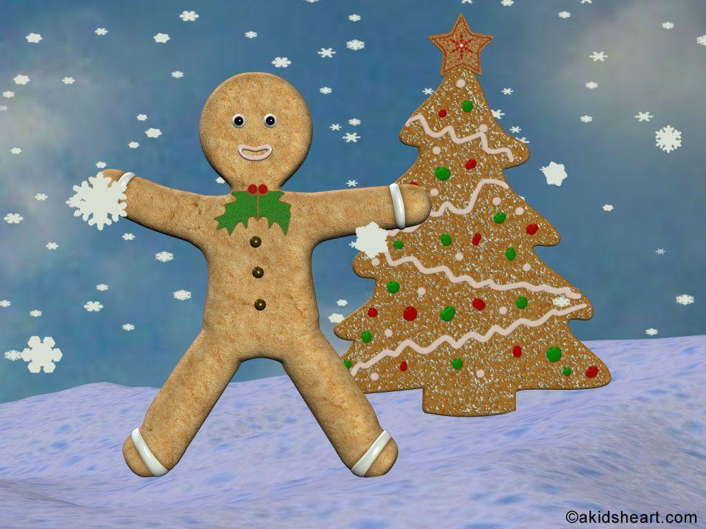 Gingerbread Man Wallpapers - Wallpaper - 111.6KB