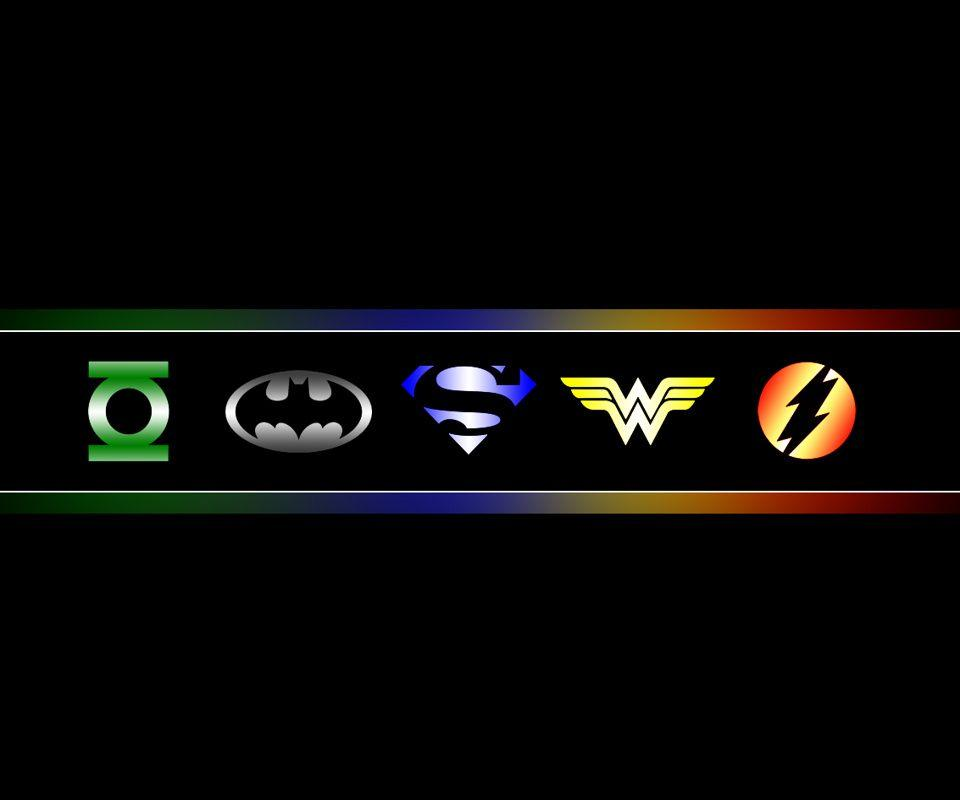 Justice League cartoons wallpapers for mobile download free