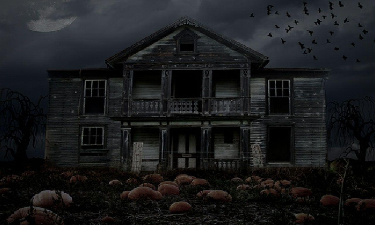 Haunted House Backgrounds Wallpaper Cave