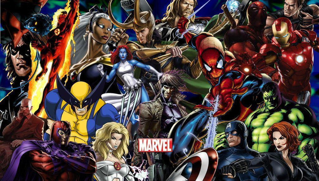 Gallery For > Marvel Wallpaper