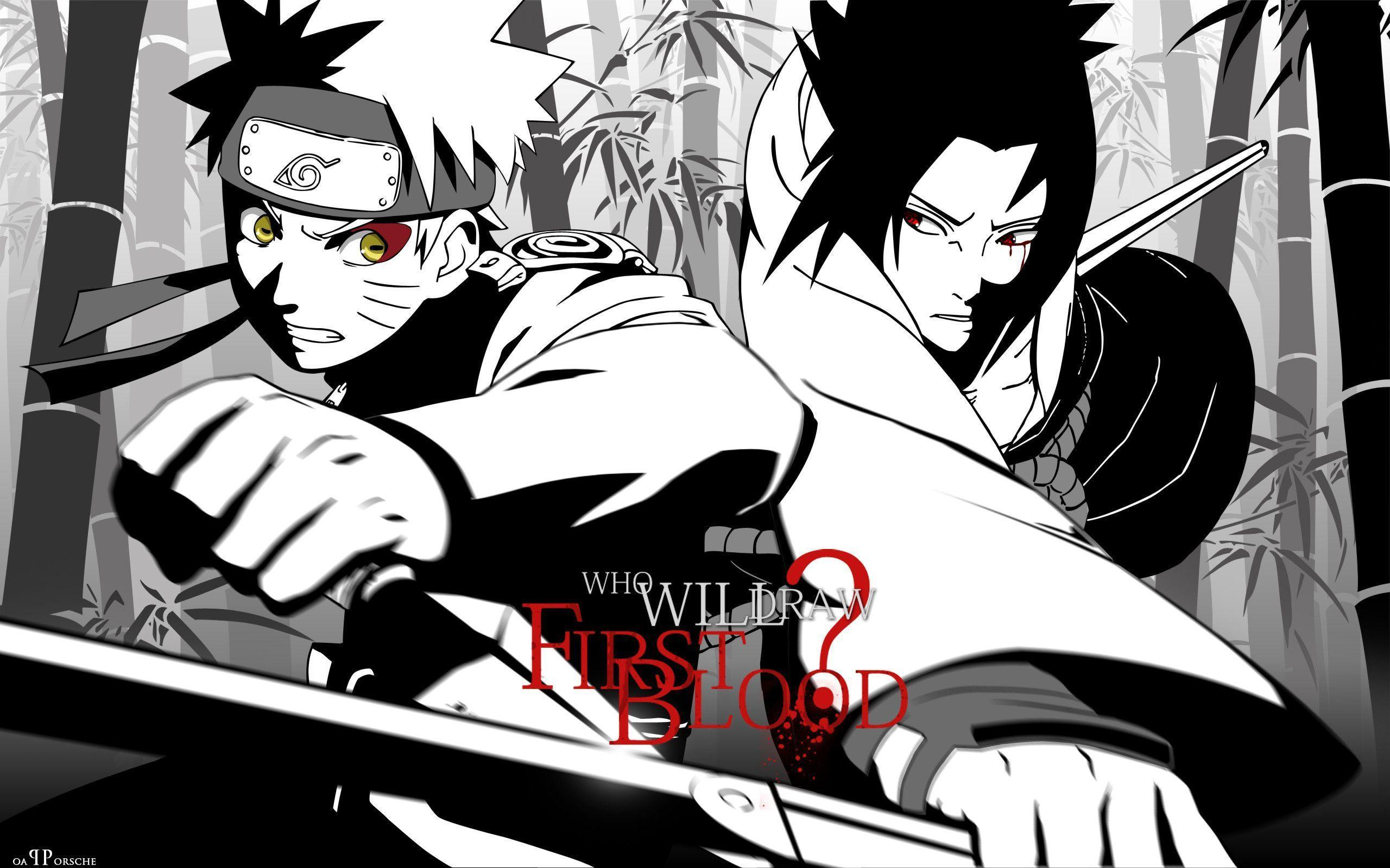 Naruto And Sasuke Wallpapers Wallpaper Cave