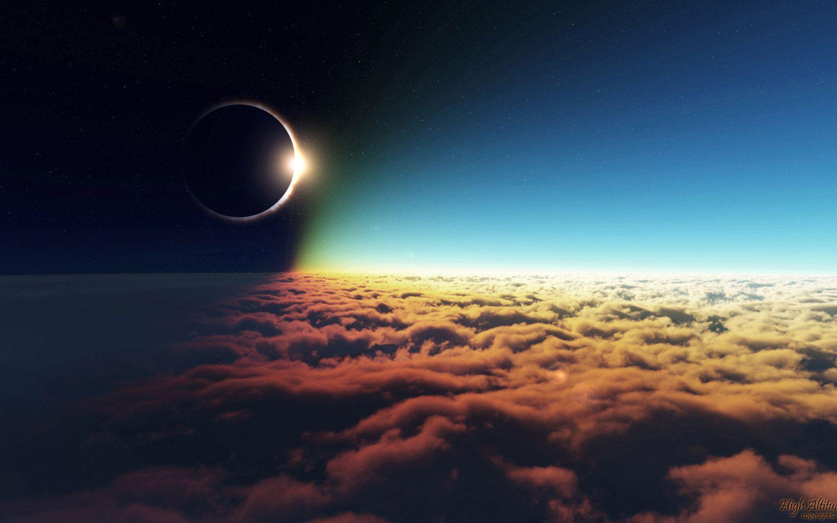 Solar Eclipse Wallpapers 1680x1050