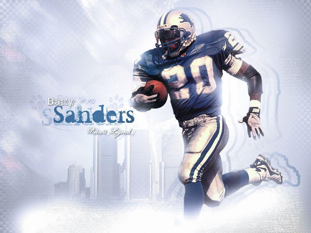 gallery for barry sanders wallpaper
